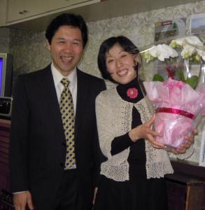 名古屋福音伝道教会保浦牧師ご夫妻